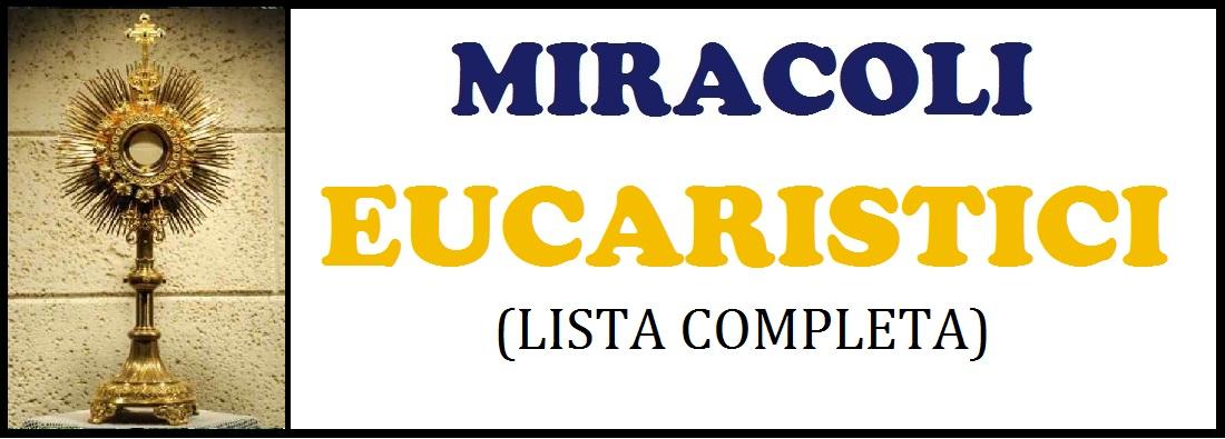 pulsante miracoli eucaristici